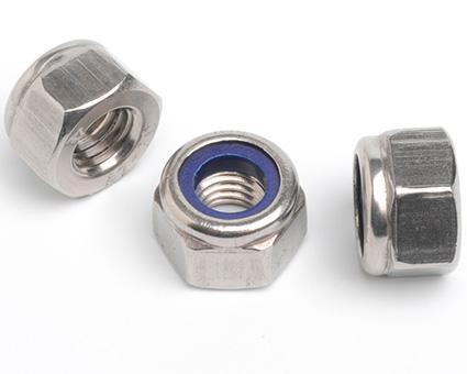 Stainless Steel Nylon Insert Nuts High Type