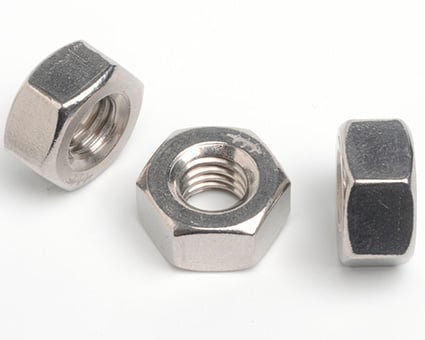 Stainless Steel USA Heavy Hexagon Full Nuts