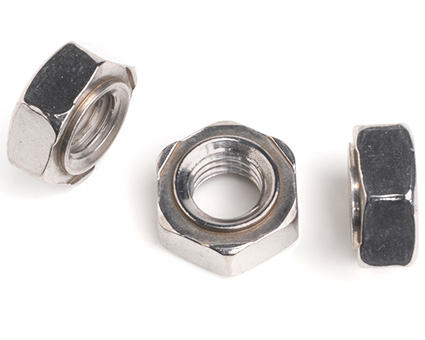 Stainless Steel Hexagon Weld Nuts