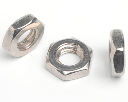 Stainless Steel Hexagon Thin Nuts ISO 4035