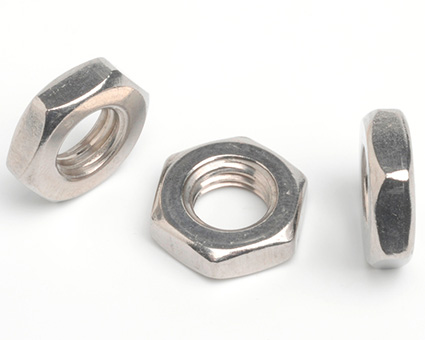 Stainless Steel Hexagon Thin Nuts DIN 936