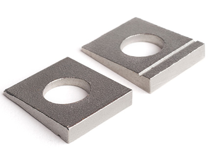 Stainless Steel Square Taper Washers for I-Section