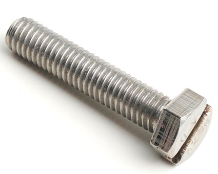 Stainless Steel Hexagon Head Set Screws with Slot
