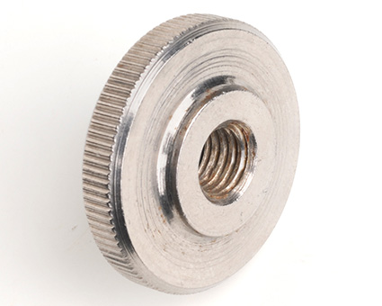 Stainless Steel Knurled Thumb Nut Thin Type