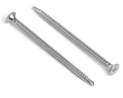 Stainless Steel Phillips Countersunk Bi-Metal Tek 2 Insulation Screws